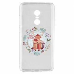 Чехол для Xiaomi Redmi Note 4 Hello winter!