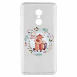 Чехол для Xiaomi Redmi Note 4x Hello winter!