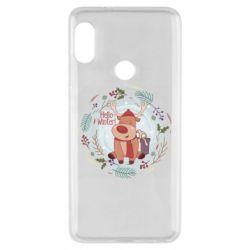 Чехол для Xiaomi Redmi Note 5 Hello winter!