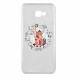 Чехол для Samsung J4 Plus 2018 Hello winter!