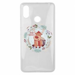 Чехол для Xiaomi Mi Max 3 Hello winter!