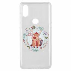 Чехол для Xiaomi Mi Mix 3 Hello winter!