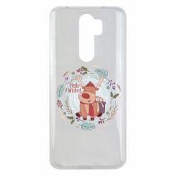 Чехол для Xiaomi Redmi Note 8 Pro Hello winter!