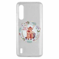 Чехол для Xiaomi Mi9 Lite Hello winter!