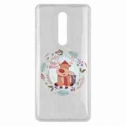 Чехол для Xiaomi Mi9T Hello winter!