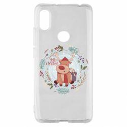 Чехол для Xiaomi Redmi S2 Hello winter!