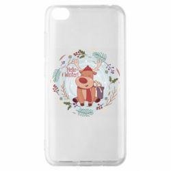 Чехол для Xiaomi Redmi Go Hello winter!