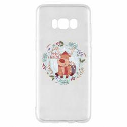 Чехол для Samsung S8 Hello winter!