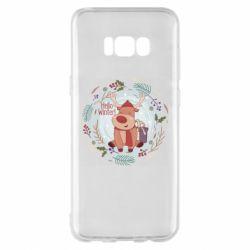 Чехол для Samsung S8+ Hello winter!