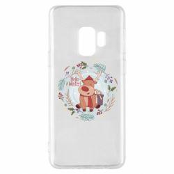 Чехол для Samsung S9 Hello winter!