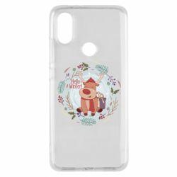 Чехол для Xiaomi Mi A2 Hello winter!