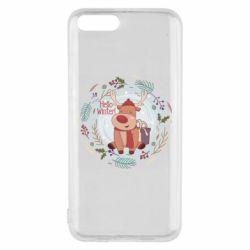 Чехол для Xiaomi Mi6 Hello winter!