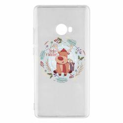 Чехол для Xiaomi Mi Note 2 Hello winter!