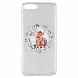 Чехол для Xiaomi Mi Note 3 Hello winter!