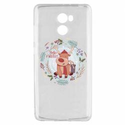 Чехол для Xiaomi Redmi 4 Hello winter!