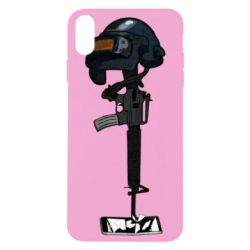 Чохол для iPhone Xs Max Helmet and weapon