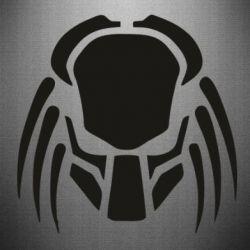 Наклейка Helmet Predator