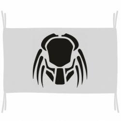 Флаг Helmet Predator