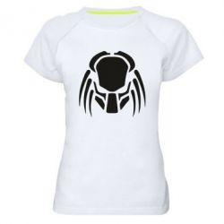 Женская спортивная футболка Helmet Predator