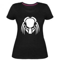 Женская стрейчевая футболка Helmet Predator