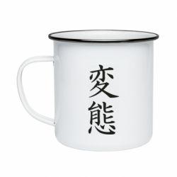 Кружка эмалированная HENTAI (JAP)