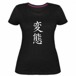 Женская стрейчевая футболка HENTAI (JAP)