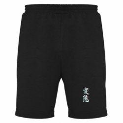 Мужские шорты HENTAI JAPAN GLITCH