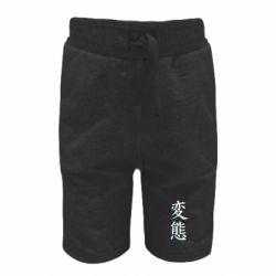 Детские шорты HENTAI JAPAN GLITCH