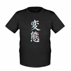 Детская футболка HENTAI JAPAN GLITCH