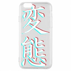 Чехол для iPhone 6/6S HENTAI JAPAN GLITCH