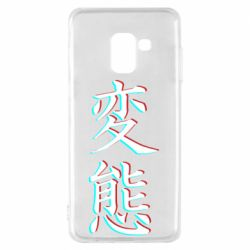 Чехол для Samsung A8 2018 HENTAI JAPAN GLITCH