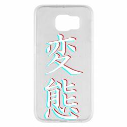 Чехол для Samsung S6 HENTAI JAPAN GLITCH