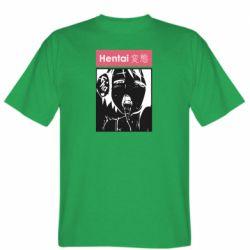 Мужская футболка Hentai