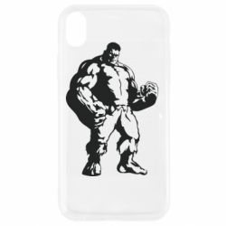 Чехол для iPhone XR Hero Hulk
