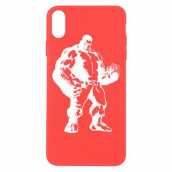 Чехол для iPhone Xs Max Hero Hulk