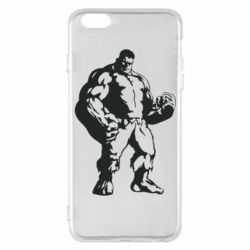 Чехол для iPhone 6 Plus/6S Plus Hero Hulk