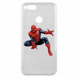 Чехол для Xiaomi Mi A1 Hero Spiderman