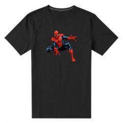 Мужская стрейчевая футболка Hero Spiderman