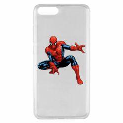 Чехол для Xiaomi Mi Note 3 Hero Spiderman