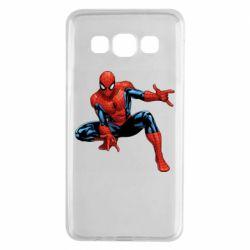 Чехол для Samsung A3 2015 Hero Spiderman