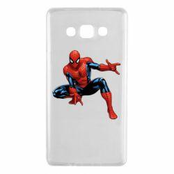 Чехол для Samsung A7 2015 Hero Spiderman