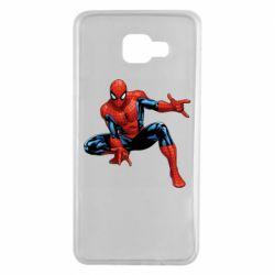 Чехол для Samsung A7 2016 Hero Spiderman