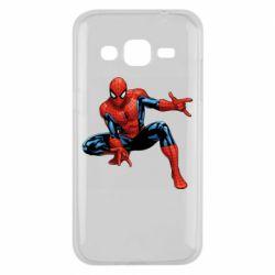 Чехол для Samsung J2 2015 Hero Spiderman