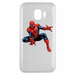 Чехол для Samsung J2 2018 Hero Spiderman