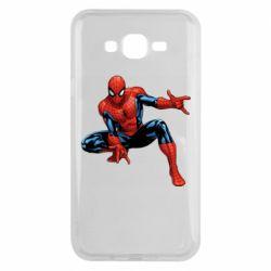 Чохол для Samsung J7 2015 Hero Spiderman