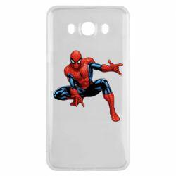 Чохол для Samsung J7 2016 Hero Spiderman