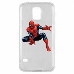 Чохол для Samsung S5 Hero Spiderman