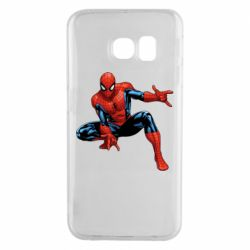 Чехол для Samsung S6 EDGE Hero Spiderman