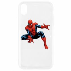 Чехол для iPhone XR Hero Spiderman