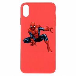 Чехол для iPhone Xs Max Hero Spiderman